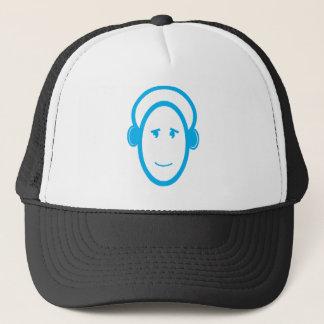 DJ Happy Trucker Hat