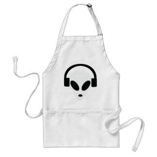 dj headphone alien area 51 standard apron