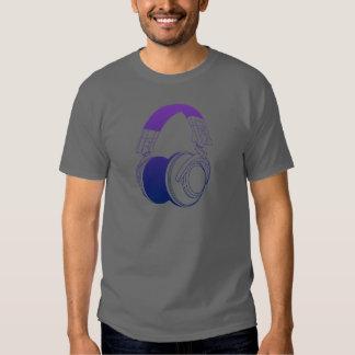 DJ Headphones 2 - Music Disc Jockey DJing Loud Tee Shirt