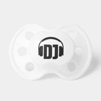 DJ headphones Baby Pacifiers