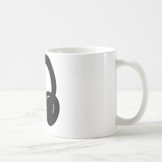 dj headphones coffee mug