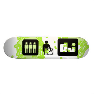 DJ ICONS SKATE BOARD DECK