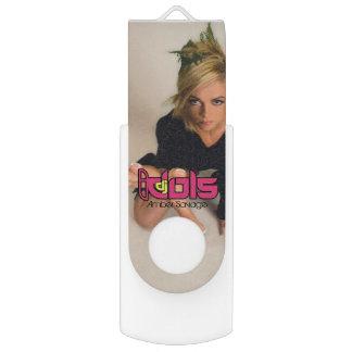 DJ IDOLS: Amber Savage USB Flash Drive