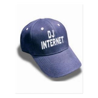 DJ internet Merch 2 Post Card
