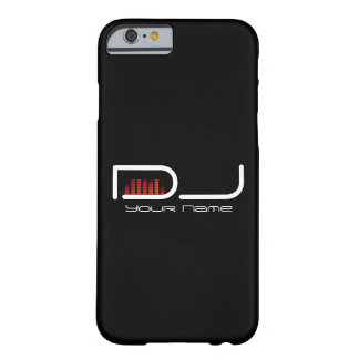 DJ iPhone 6 case with Equalizer Design Barely There iPhone 6 Case
