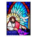 DJ Jesus Christmas card