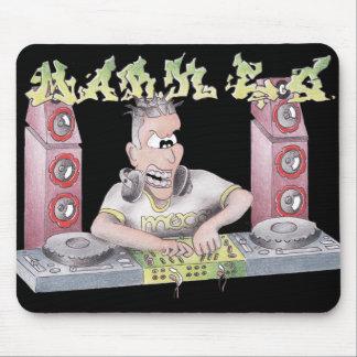 DJ mark e g graffiti cartoon mug Mouse Pad