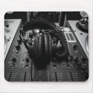 DJ Mixer Mouse Pad