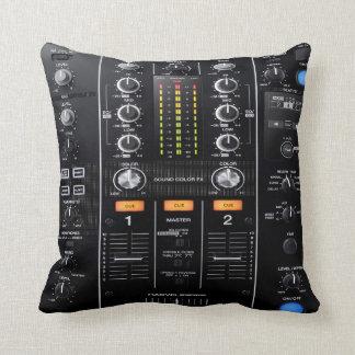 dj mixer pillow