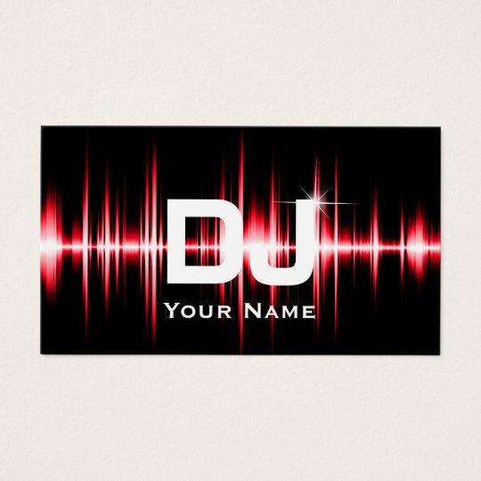 DJ Modern Red Beats Professional Deejay Music Business