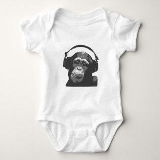 DJ MONKEY BABY BODYSUIT