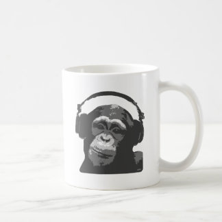 DJ MONKEY COFFEE MUG