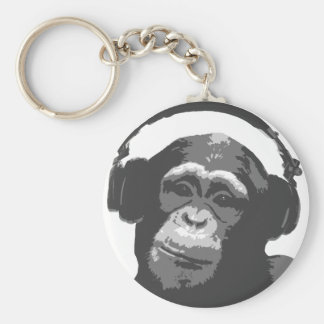 DJ MONKEY KEY RING