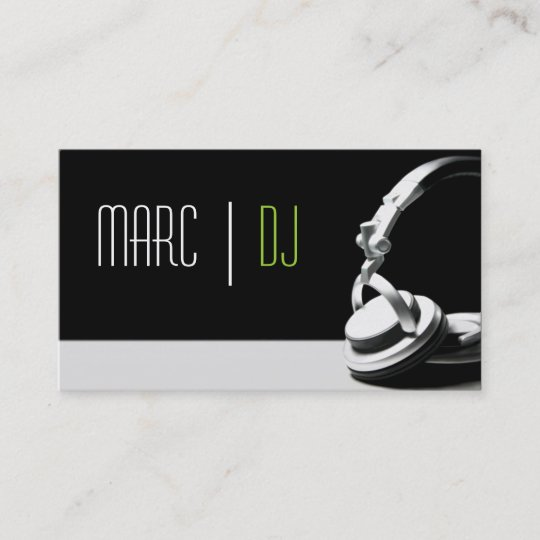 Djmusical company business card zazzle dj music club entertainment business card reheart Image collections