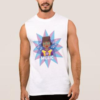 DJ Music Remixer Sleeveless Shirt