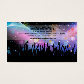 DJ NightClub Business Card
