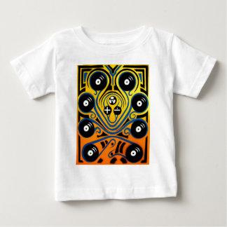 DJ Octopus in blue Baby T-Shirt