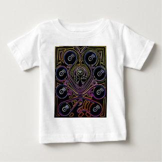 DJ Octopus neon v1 Baby T-Shirt