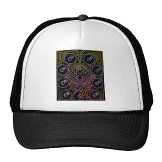 DJ Octopus neon v1 Hats