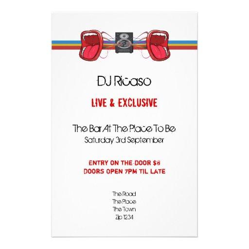 DJ Party Flyers
