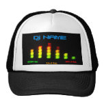 Dj Personal Equalizer Bar EQ - add your name Cap