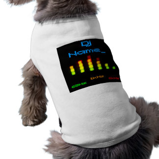 Dj Personal Equalizer Bar EQ - add your name Shirt