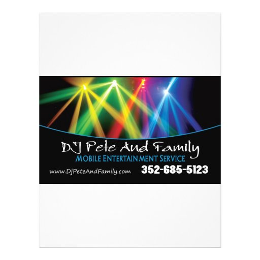 DJ Pete And Family Flyers