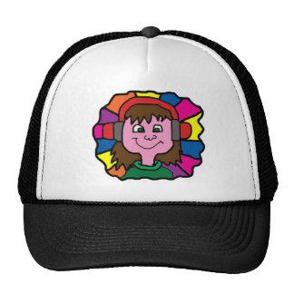DJ RAINBOW CAP