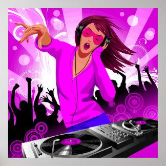 DJ Raver Chick Poster