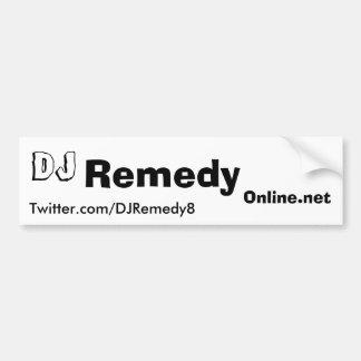 DJ Remedy Bumper Sticker Car Bumper Sticker