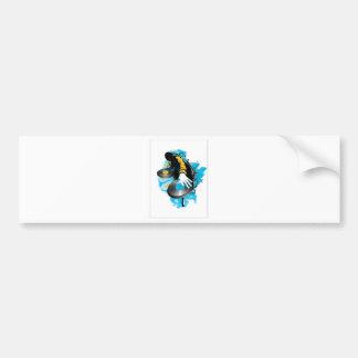 DJ Scratch'n Car Bumper Sticker