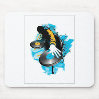 DJ Scratch'n Mouse Pad