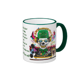 DJ. Shamrock Let the good times roll! View Hints Coffee Mugs