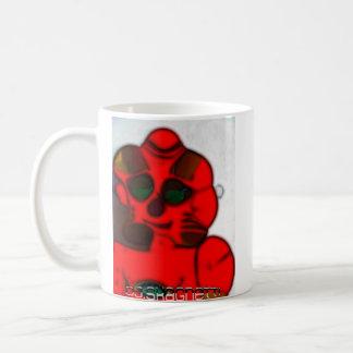 DJ.SK Deformed Robot Classic White Coffee Mug