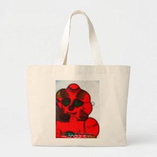 DJ.SK Deformed Robot Canvas Bags