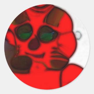 DJ.SK Deformed Robot w/o Round Sticker