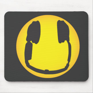 Dj Smiley Mouse Pad