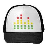 dj sound audio equalizer mesh hats