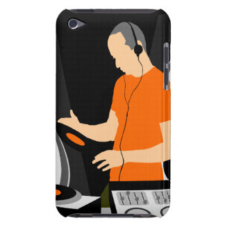 DJ Spinning Vinyl iPod Touch Cases