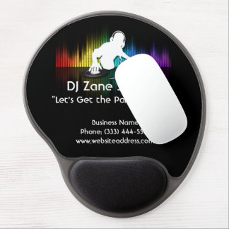 DJ Spinning Vinyl Gel Mouse Pad