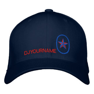 DJ Star Personalized Name Embroidery Embroidered Baseball Cap