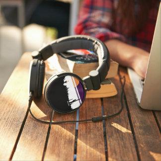 DJ Style Headphones AZ POSTCARD DESIGN