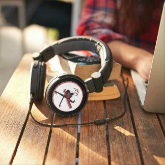 DJ Style Headphones LOVERBOY CIRCLE LOGO