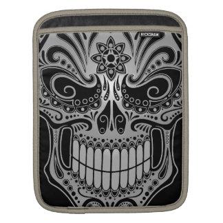 DJ Sugar Skull, dark iPad Sleeve