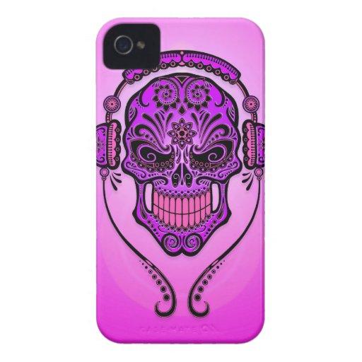 DJ Sugar Skull – Purple Blackberry Cases