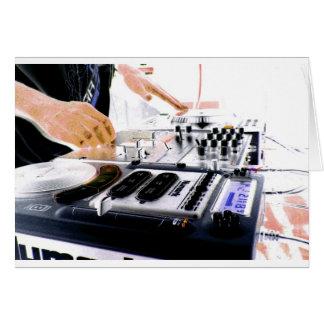 DJ System Greeting Card