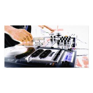 DJ SYSTEM PHOTO CARD TEMPLATE