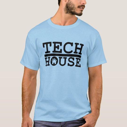 dj tech house music deep black design t