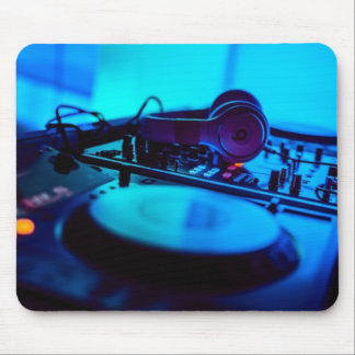 DJ Turntable 2 Mouse Pad