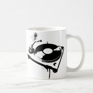 DJ Turntable Basic White Mug